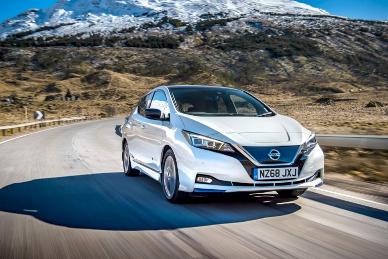 Nissan Leaf meets the needs of nearly 40% UK drivers