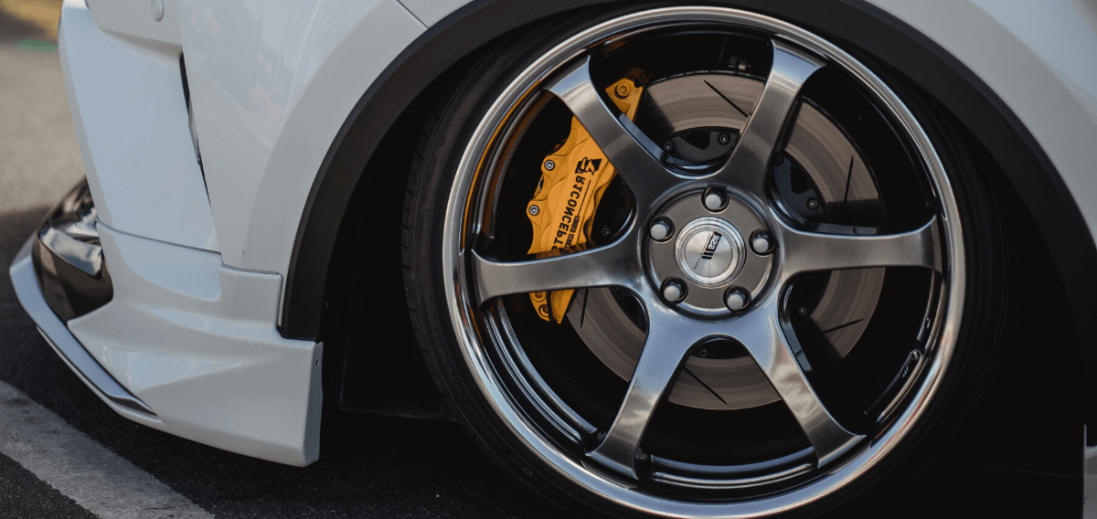 Alloy wheel refurbish