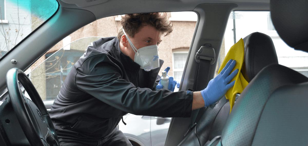 car sanitising