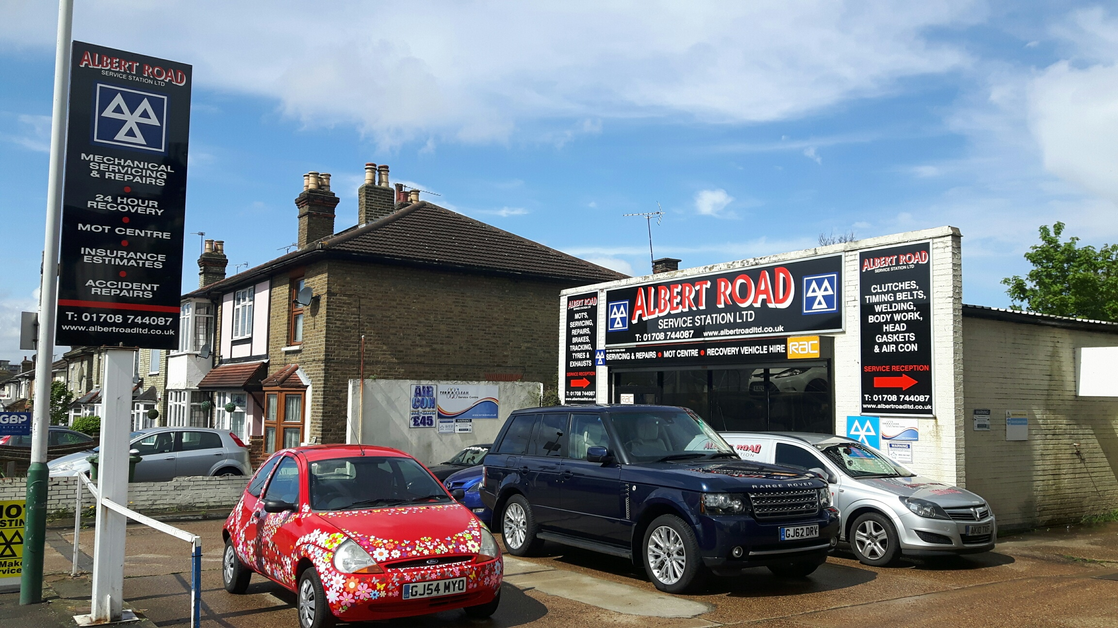 Albert Road Service Station