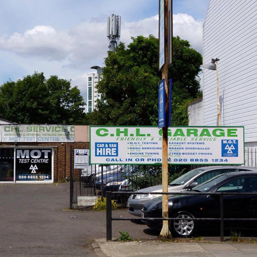 CHL GARAGE LTD